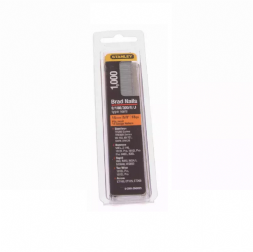 Stanley SWKBN0625 Brad Nails 15mm Pack of 1000